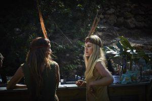Ibiza Bohemia Launch models at work